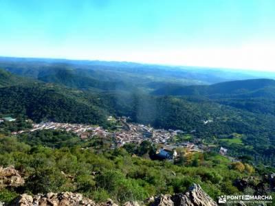 Sierra Aracena-Minas RíoTinto;zapatillas trekking hiking ropa de montaña mapa comunidad de madrid